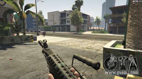 GTA 5 M249 seventh screenshot
