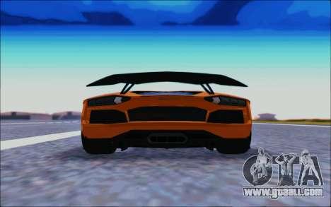 Lamborghini Aventador MV.1 [IVF] for GTA San Andreas right view