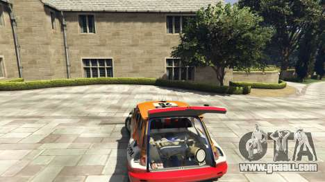 GTA 5 Renault 5 GT Turbo Rally rear right side view