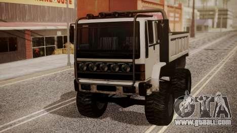 DFT Monster Truck 30 for GTA San Andreas back left view