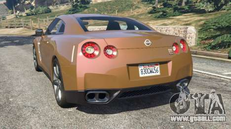 Nissan GT-R (R35) for GTA 5