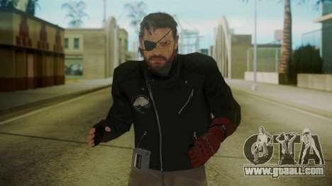Venom Snake [Jacket] for GTA San Andreas