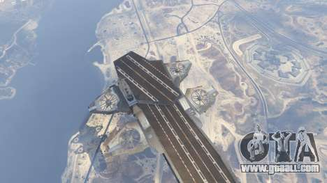 GTA 5 S.H.I.E.L.D. Helicarrier sixth screenshot