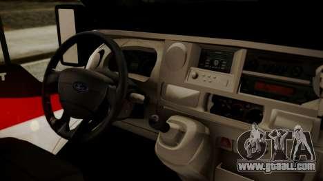 Ford Transit Jumbo Ambulance for GTA San Andreas right view