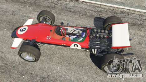 GTA 5 Lotus 49 1967 [ailerons] back view