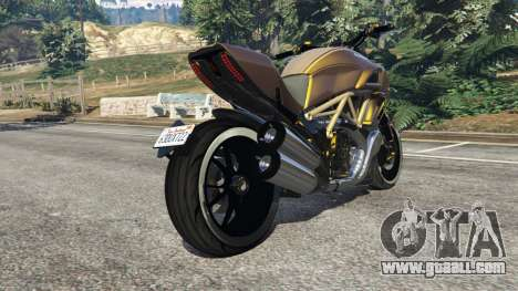GTA 5 Ducati Diavel Carbon 11 v1.1 right side view