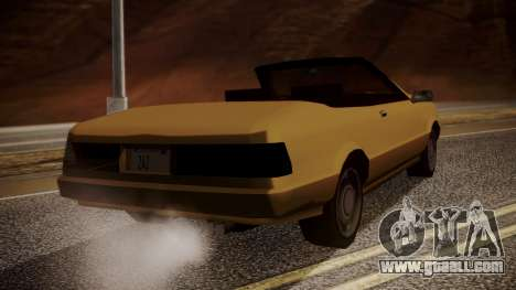 Cadrona Cabrio for GTA San Andreas left view