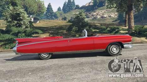 GTA 5 Cadillac Eldorado left side view