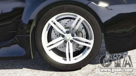 BMW M6 (E63) WideBody v0.1 for GTA 5
