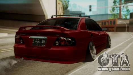 Mitsubishi Galant VR6 Stance for GTA San Andreas left view