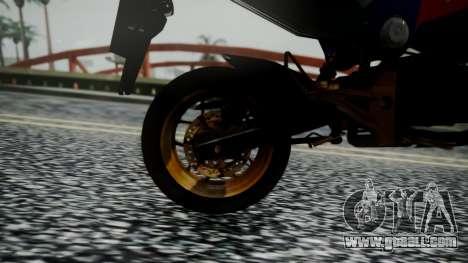 Honda MSX 125C Khmer for GTA San Andreas back view