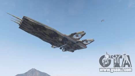 S.H.I.E.L.D. Helicarrier for GTA 5