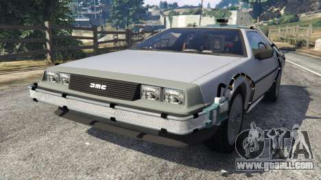 DeLorean DMC-12 Back To The Future v0.4 for GTA 5