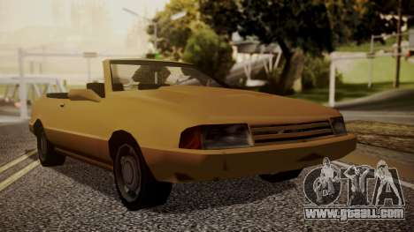 Cadrona Cabrio for GTA San Andreas