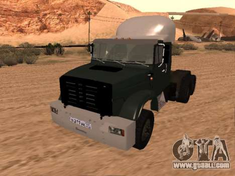 ZIL-133 05A for GTA San Andreas
