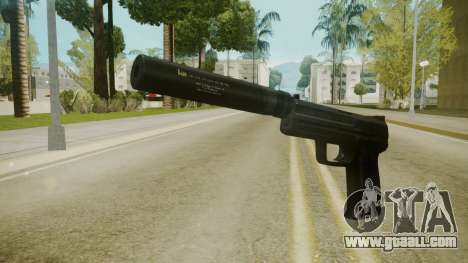Atmosphere Silenced Pistol v4.3 for GTA San Andreas