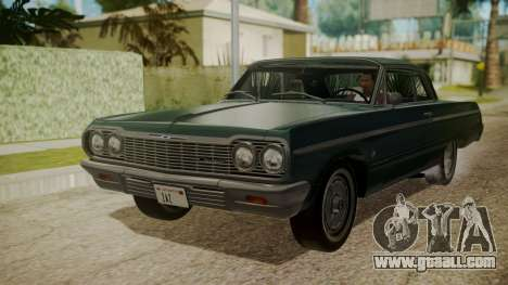Chevrolet Impala SS 1964 Low Rider for GTA San Andreas