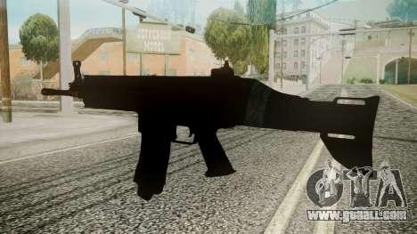 SCAR-L Battlefield 3 for GTA San Andreas second screenshot