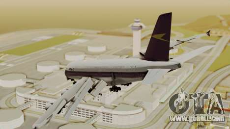 Airbus A380-800 British Overseas Airways Corp. for GTA San Andreas left view