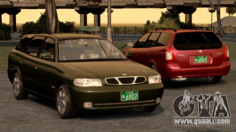 Daewoo Nubira I Spagon 1.8 DOHC 1998 for GTA 4 engine