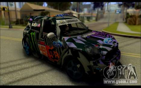 Mini Cooper Gymkhana 6 with Drift Handling for GTA San Andreas