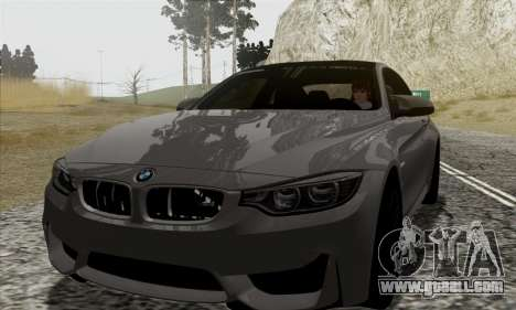 BMW M4 F82 for GTA San Andreas side view