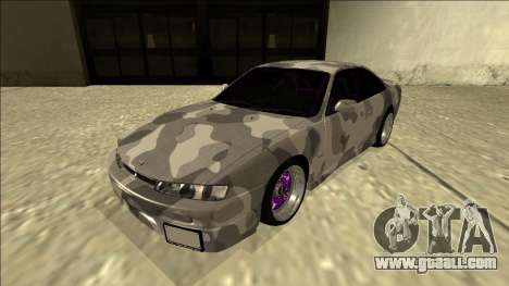 Nissan Silvia S14 Army Drift for GTA San Andreas