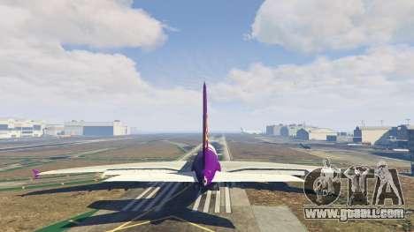GTA 5 Airbus A380-800 v1.1 fourth screenshot