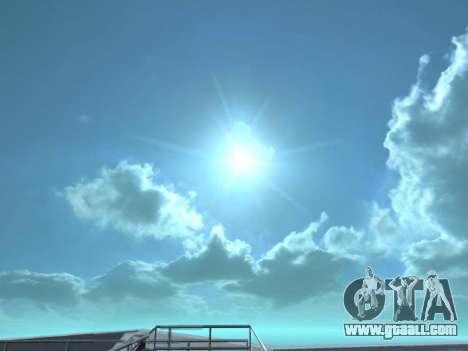Realistic Skybox HD 2015 for GTA San Andreas second screenshot