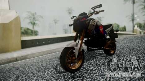 Honda MSX 125C Khmer for GTA San Andreas