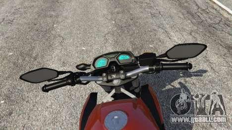 GTA 5 Honda CB 650F v0.9 rear right side view