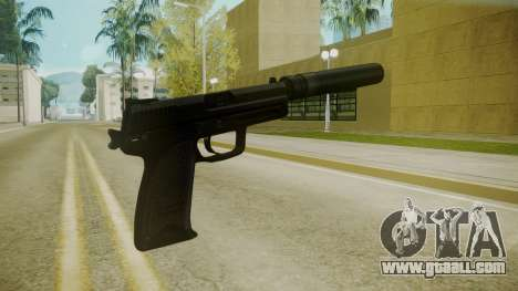Atmosphere Silenced Pistol v4.3 for GTA San Andreas second screenshot