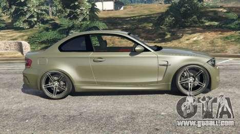 GTA 5 BMW 1M v1.2 left side view