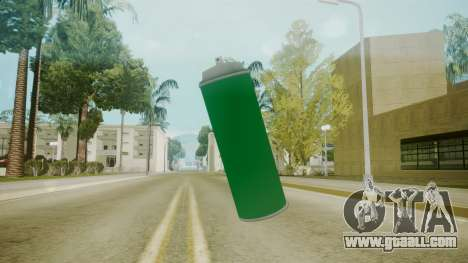 Atmosphere Spraycan v4.3 for GTA San Andreas second screenshot