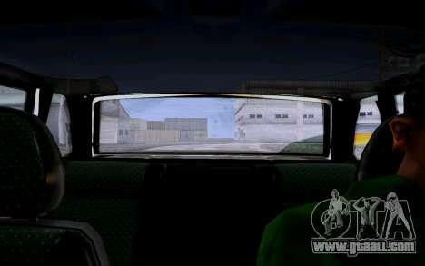 2114 Turbo for GTA San Andreas inner view