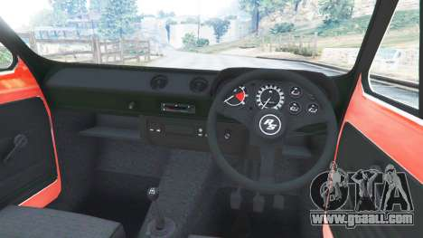 GTA 5 Ford Escort MK1 v1.1 [JE Pistons] right side view