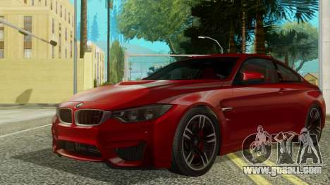 BMW M4 Coupe 2015 for GTA San Andreas