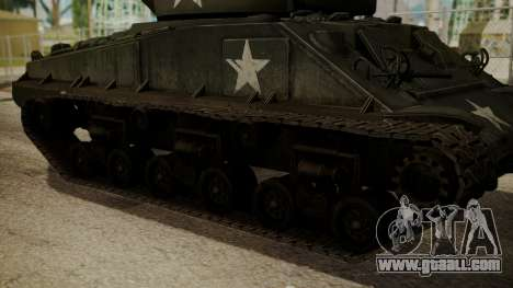 M4A3(76)W HVSS Sherman for GTA San Andreas back left view