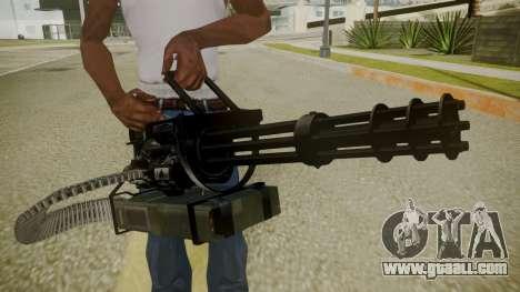 Atmosphere Minigun v4.3 for GTA San Andreas