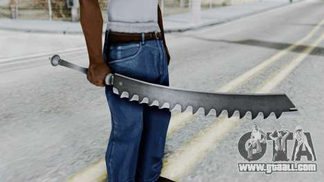 Kaine Sword for GTA San Andreas third screenshot