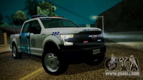 Ford F-150 2015 Transito Vial for GTA San Andreas