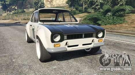 Ford Escort MK1 v1.1 [10] for GTA 5