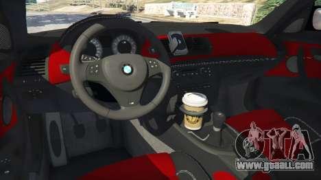 GTA 5 BMW 1M v1.2 rear right side view