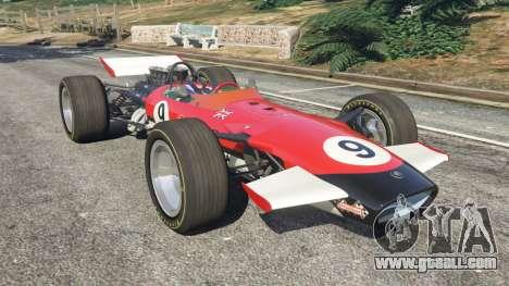 Lotus 49 1967 [ailerons] for GTA 5