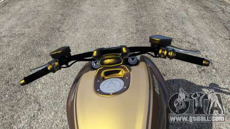 GTA 5 Ducati Diavel Carbon 11 v1.1 rear right side view