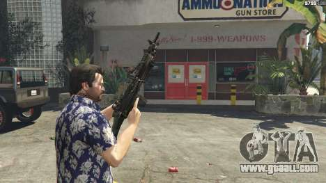 GTA 5 M249 sixth screenshot