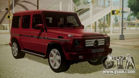 Mercedes-Benz G350 Bluetec for GTA San Andreas