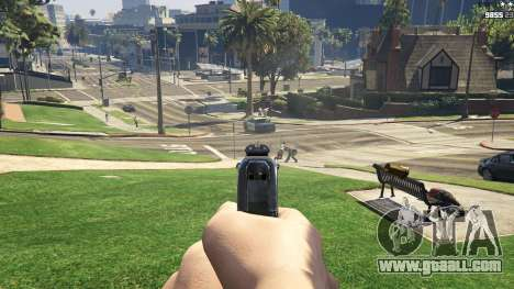 GTA 5 Forced First Person Aim 1.0.6 third screenshot