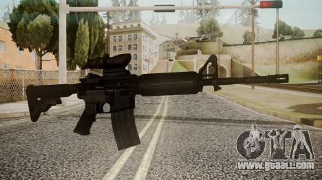 M4 by catfromnesbox for GTA San Andreas