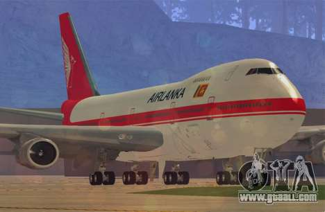 Boeing 747-200 Air Lanka for GTA San Andreas